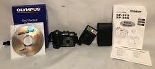 Olympus SP-350 8 Megapixel Digital Camera w Manual CD Manual Electronic Flash