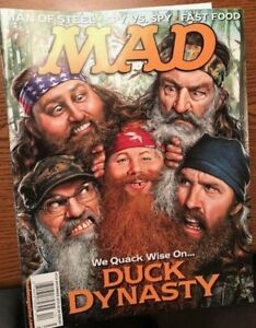 Mad Magazine Special December 2013 Duck Dynasty, Man of Steel, Spy NEW