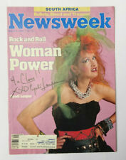 Cyndi Lauper Autograph Hand Signed To Claire - AG01