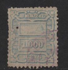 $Brazil Sc#98 used, fine, crease, Cv. $110