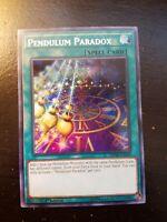3x Secret Rare Pendulum Paradox EXFO-EN061 1st Edition