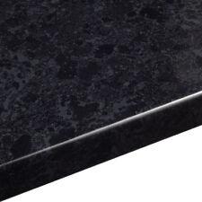 Midnight Granite effect Kitchen Worktop 40mm, Laminate 3mX600X38mm CURVED EDGE