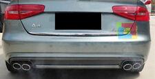 SOTTO PARAURTI POSTERIORE DIFFUSORE S4 - AUDI A4 B8 8K 2007-2012 AVANT BERLINA