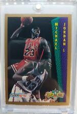Rare: 1992 92-93 Fleer Tonys Pizza Michael Jordan #NNO, Parallel