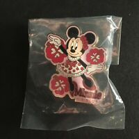 WDW - Minnie's Flowers Pin #5 Hibiscus RARE HTF LE 1000 Disney Pin 32393