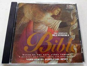 The Complete Multimedia Bible - PC/Windows Computer Software - James Earl Jones