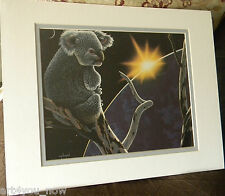 SCHIM SCHIMMEL A New Day Dawning Double Matted Paper Print Shrink Wrapped 14x11