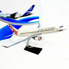 Gift 1:110 Solid Resin VIRGIN AUS Flight Boeing 737 Aircraft Plane Model 46cm