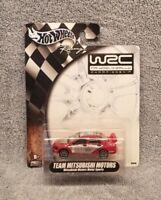 HOT WHEELS RACING WORLD RALLY SERIES MITSUBISHI LANCER WORLD RALLY TEAM WRC 1:64