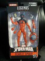 """Marvel Legends 6"""" Scarlet Spider Kane New Sealed Mint w/ SP//dr BAF Spider-Man"""