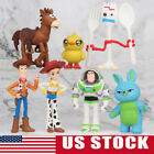 Toy Story Forky Woody Buzz Lightyear 7 pcs Action Figure Kids Toy Cake Topper