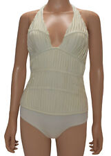 La Perla Ivory Ruched Underwire One Piece Swimsuit