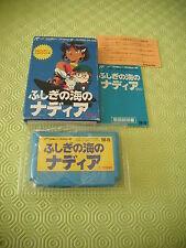 >> FUSHIGI NO UMI NO NADIA ANIME NES FAMICOM JAPAN IMPORT COMPLETE IN BOX! <<