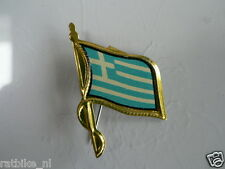 PINS,SPELDJES 50'S/60'S COUNTRY FLAGS 31 GREECE VINTAGE VERY OLD VLAG
