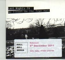 (DJ23) Last Night's TV, No Tinsel On The Town Hall - 2011 DJ CD