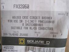 NEW SQUARE D FA32060 CIRCUIT BREAKER