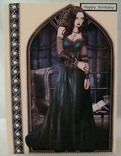 Goth Lady Birthday Card Collection 2