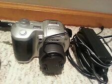 Sony Mavica Mvc-Cd250 2.0 Mp Digital Camera & cable charger Black Silver bundle