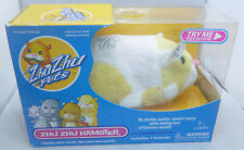 2009 Zhu Zhu Pets Hamster PATCHES White Yellow Item Number 86105 NEW IN PACKAGE