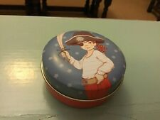 Belle and Boo small decorative round ti, 7x3cms, The Pirate
