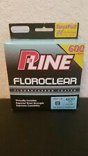 P-Line Floroclear FCCBF-8 Fccbf-8 600 Yd Fluorocarbon Coated 8 LB Test