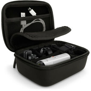Black EVA Carrying Hard Travel Case Cover for Action Cameras