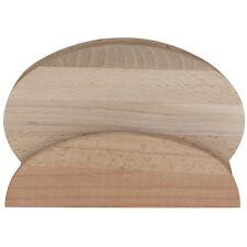 Kesper 4 Brettchen Brettchenständer Schneidebrett Frühstücksbrettchen Holz Buche