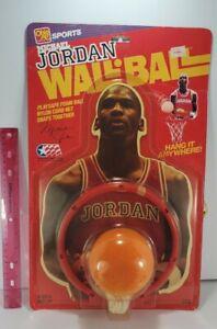 MICHAEL JORDAN CHICAGO BULLS / 1990 OHIO ARTS   WALL-BALL SET / NEW, SEALED