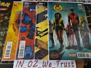 E is For Extinction #1-4 Secret Wars (Marvel Comics, Warzones, Complete Set)