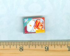 DOLLHOUSE Miniatures SIZE  Frozen Fried Chicken T V Dinner  Box