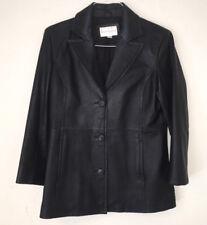 Womens Worthington Leather Jacket Size Med