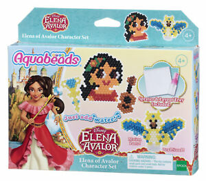31318 Aquabeads Elena of Avalor Character Set Inc 680 Beads & 16 Colours Ages 4+