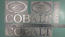 """Cobalt boat Emblem 20"""" chrome + FREE FAST delivery DHL express"""