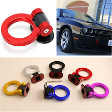 Universal ABS Red Ring Track Racing Hook Style Tow Hook Auto Decoration Stickers