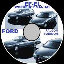 FORD FALCON EF EL  XR6-XR8-WAGON-SEDAN REPAIR MANUAL CDROM