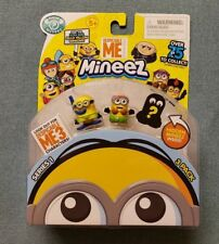 Despicable ME MINEEZ 3 characterpack fromSeries 1 BRAND NEW USA SELLER