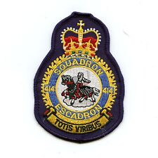 RCAF CAF Canadian 414 Squadron Heraldic Colour Crest Patch
