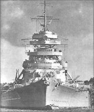 6x4 Gloss Photo ww4EFE World War 2 Pictures Bismarck 2
