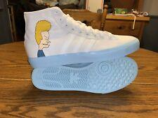 Adidas Matchcourt High Remix Beavis & Butthead Shoes Size 10.5 DB3379 Cloud Whit