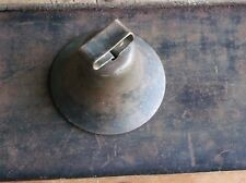 Antique Bronze Cow Goat Bell With Original Clapper