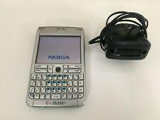 T-Mobile Nokia E61-1 Handy Silber Sammlerstück voll funktionsfähig