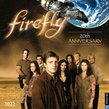 Firefly Tv Series 20th Anniversary 12 Month 2022 Wall Calendar New Sealed