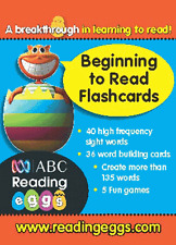 Reading Eggs Ages 4 to 6 Beginning to Read Flashcards by Pascal Press (Cards, 2009)