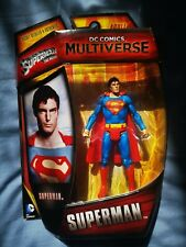 "DC Multiverse Superman The Movie Christopher Reeve Figure 3.75"" RARE"