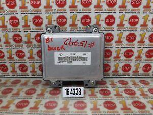 2008 08 BUICK ENCLAVE ENGINE COMPUTER MODULE ECU ECM 12607096 YRHH OEM