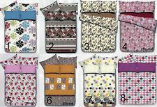4pc Queen Size Bedsheet Set 60x75 Fitted Flat sheet bed pillow case
