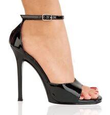 Escarpin pointure 37.5 Gala-36 noir brillant Pleaser shoes