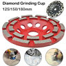 125/150/180 mm Diamond Segment Grinding CUP Wheel Disc Grinder Concrete Granite