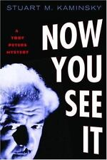 Now You See It: A Toby Peters Mystery  by Stuart M. Kaminsky hardcover dj 1st ed
