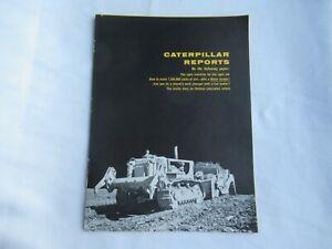 CAT Caterpillar D8 D9 tractor 977 loader report brochure